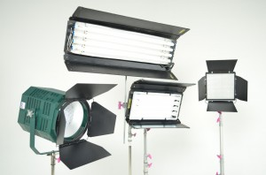 3-Fluorescent & LED