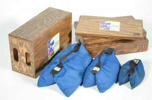 5-Sand Bags & Apple Boxes